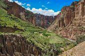 Canyon De Palca Near La Paz, Bolivia