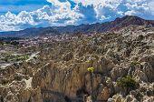 Valle De La Luna Near La Paz, Bolivia