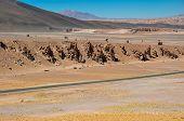 Road To Paso De Jama In North Chile