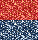 seamless oriental pattern design