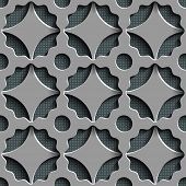 Vector Seamless Indian Pattern