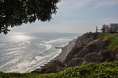 Miraflores Cliffs, Lima, Peru