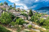 The Picturesque Village Of Aristi In Zagori Area, Northern Greece