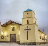 Iruya Church In Argentinian Salta Province.