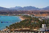 Tourist zone in Sharm el Sheik
