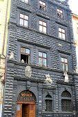 Black house in Lviv