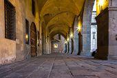 Tuscany, Medieval Portico