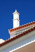 Traditional Portuguese chimney