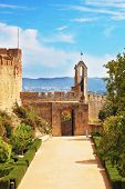 stock photo of templar  - Palace of the Knights Templar in Portugal - JPG