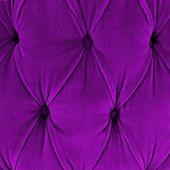 Purple Sofa Upholstery Velvet Fabric