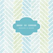 Abstract textile stripes parquet frame seamless pattern background