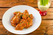 Buffalo Chicken Hot Wings