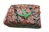 Cooking with Cannibals. Genuine Medical Marijuana Chocolate Brownie, aka medical cannabis brownies,