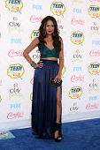 LOS ANGELES - AUG 10:  Janel Parrish at the 2014 Teen Choice Awards Press Room at Shrine Auditorium