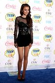 LOS ANGELES - AUG 10:  Cher Lloyd at the 2014 Teen Choice Awards Press Room at Shrine Auditorium on