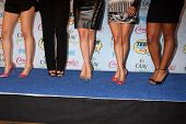 LOS ANGELES - AUG 10:  Fifth Harmony at the 2014 Teen Choice Awards Press Room at Shrine Auditorium