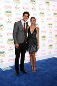 LOS ANGELES - AUG 10:  Tyler Posey, Sarah Hyland at the 2014 Teen Choice Awards at Shrine Auditorium on August 10, 2014 in Los Angeles, CA