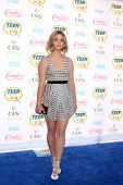 LOS ANGELES - AUG 10:  Sasha Pieterse at the 2014 Teen Choice Awards at Shrine Auditorium on August 10, 2014 in Los Angeles, CA