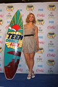 LOS ANGELES - AUG 10:  Sasha Pieterse at the 2014 Teen Choice Awards Press Room at Shrine Auditorium