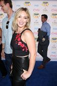 LOS ANGELES - AUG 10:  Hilary Duff at the 2014 Teen Choice Awards at Shrine Auditorium on August 10,