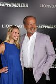 LOS ANGELES - AUG 11:  Kelsey Grammer, wife at the