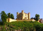 Hohenschwangau Castle Near Neuschwanstein In Bavaria, Germany
