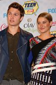 LOS ANGELES - AUG 10:  Ansel Elgort, Shailene Woodley at the 2014 Teen Choice Awards Press Room at Shrine Auditorium on August 10, 2014 in Los Angeles, CA