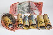 Australian Dollars 20 And 50