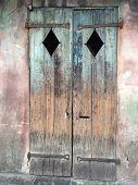 Old weathed door