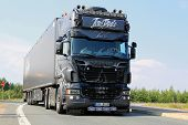 German Scania Show Truck Ghost Rider