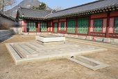 Traditional Well Near Taewonjeon In Gyeongbokgung, Korea