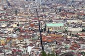 Panorama Of Naples. Naples Is The Capital Of The Italian Region Camp