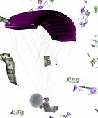 Parachute In Money