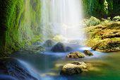 Kursunlu Waterfalls in Antalya, Turkey