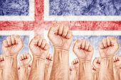 Iceland Labour Movement, Workers Union Strike