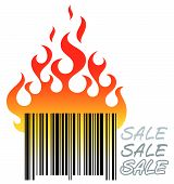 Barcode In Fire.eps
