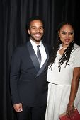 LOS ANGELES - JAN 10:  Andre Holland, Ava DuVernay at the 40th Annual Los Angeles Film Critics Association Awards at a Intercontinental Century City on January 10, 2015 in Century City, CA