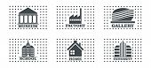 Construction And Industrial Icon Set