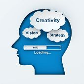 Loading creativity, vision and strategy