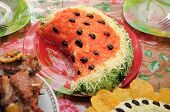 Watermelon Dish