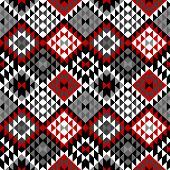 American Indian Seamless Pattern Design