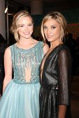 LOS ANGELES - JAN 11:  Greer Grammer, Spencer Grammer at the HBO Post Golden Globe Party at a Circa 55, Beverly Hilton Hotel on January 11, 2015 in Beverly Hills, CA