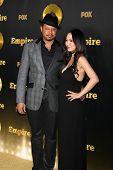 LOS ANGELES - JAN 6:  Terrence Howard, Miranda Howard at the FOX TV