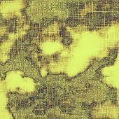 Abstract textured background designed in grunge style. With different color patterns: brown; gray; yellow (beige)