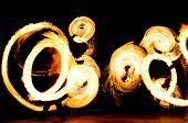 Gasoline Dance Orange Flames