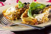 Vegetarian Lasagna Dinner