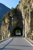 mountain road, Italy, Europe
