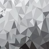 Silver Polygonal Background