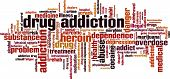 Drug Addiction Word Cloud