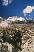 Hiking To Huayna Potosi